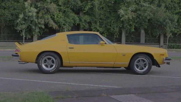 O perfil é um dos angulos mais bonitos da segunda geração do Camaro (Foto: Reprodução)