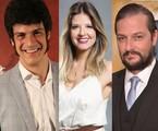 Mateus Solano, Mariana Santos e Marcelo Serrado | TV Globo
