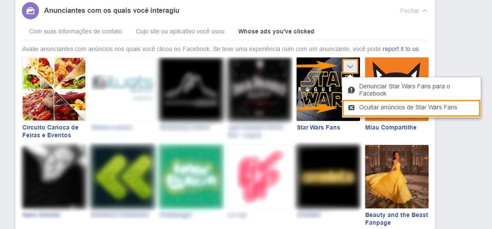 Oculte publicidade de anunciantes do seu Feed do Facebook (Foto: Foto: Reprodução/Barbara Mannara)
