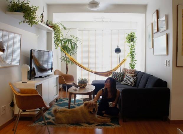 Modernismo e boemia um apartamento decorado na capital casa e jardim arquitetura - Pisos pilotos decorados ...