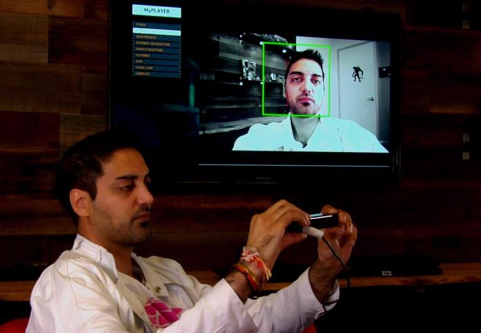 NBA 2K15 tem tecnologia de escanear rostos (Foto: Reprodução/YouTube)