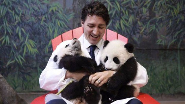 Justin Trudeu tem 4 milhões de seguidores nas redes sociais. (Foto: BBC)