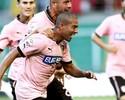 Ex-Botafogo faz o seu, mas Palermo cede empate para o Cagliari no final