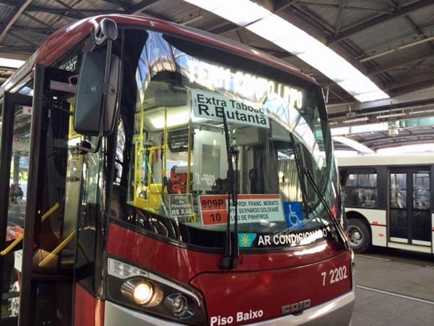 Ônibus com Wi-Fi circulam em linhas da Zona Sul. (Foto: Amanda Previdelli/G1)