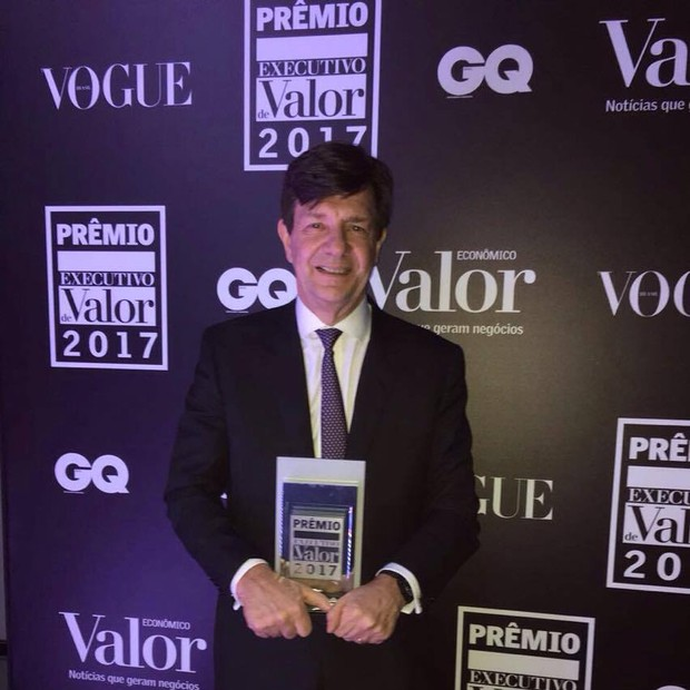 Roberto Setubal, do Itaú, vence pela 13ª vez o prêmio (Foto: GQ Brasil)
