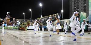 Veja fotos do 2° dia do Grupo Especial de Santos (Ivair Vieira Jr/G1)