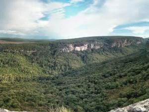 Cânion do Jaguaricatú é uma das atrações do Vale do Itararé (Foto: Cláudio Nascimento/ TV TEM)
