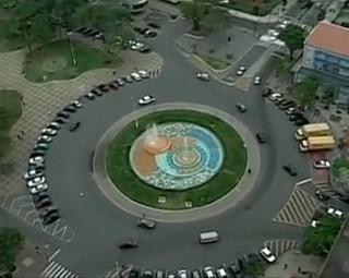 Praça Brasil, Volta Redonda (Foto: Reprodução)
