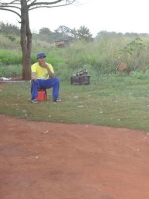 'Bairros' em Dourados, MS, aldeias sofrem com violência e alcoolismo (Foto: Fabiano Arruda/G1 MS)