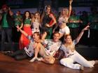 Susana Vieira, Paloma Bernardi e mais famosos curtem feijoada da escola de samba Grande Rio