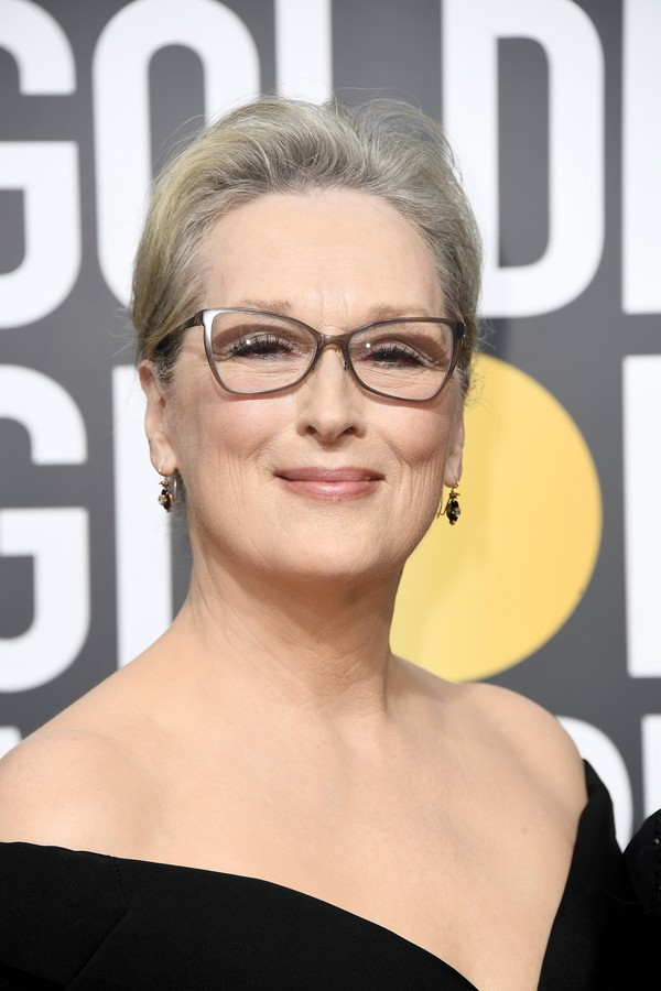BEVERLY HILLS, CA - JANUARY 07:  Actor Meryl Streep attends The 75th Annual Golden Globe Awards at The Beverly Hilton Hotel on January 7, 2018 in Beverly Hills, California.  (Photo by Frazer Harrison/Getty Images) (Foto: Getty Images)