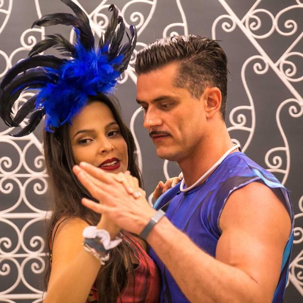 Marcos Harter e Emilly Araújo (Foto: Divulgação/TV Globo)