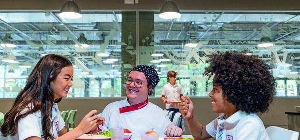 Conscientização: conversar com as crianças sobre alimentação saudável é tão importante quanto oferecer os alimentos (Foto: Gustavo Rampini)