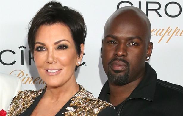 No mês seguinte, outubro, Kris Jenner começou a namorar com Corey Gamble, que é 26 anos mais novo e trabalha como empresário das turnês de Justin Bieber. (Foto: Getty Images)