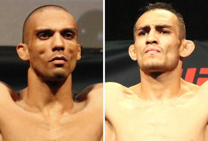 Montagem MMA Edson Barboza x Tony Ferguson (Foto: Evelyn Rodrigues)