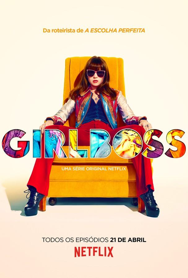 """Pôster da série """"Girlboss"""" (Foto: Divulgação/Netflix)"""