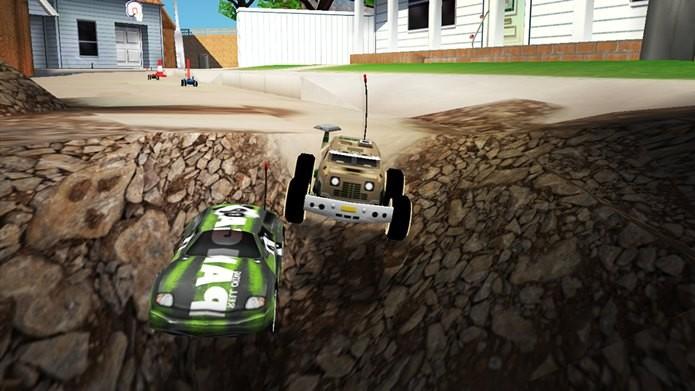 Jogo de corrida para Android com carrinhos de controle remoto (Foto: Divulgação)