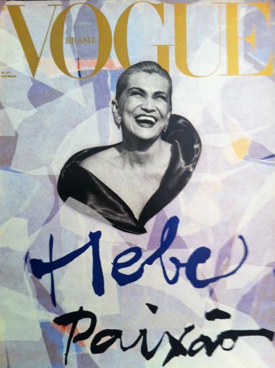 Hebe Camargo ganhou um especial para chamar de seu na revista: uma das capas mais comentadas na história da publicação (Foto: Reprodução)