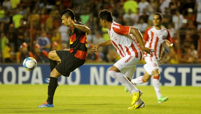 sport x náutico (Foto: Aldo Carneiro / Pernambuco Press)