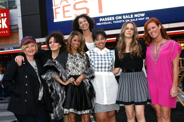 Clueless Mona May, Amy Heckerling, Stacey Dash, Alicia Silverstone, Elisa Donovan e Stephanie Allain (Foto: Getty Images)