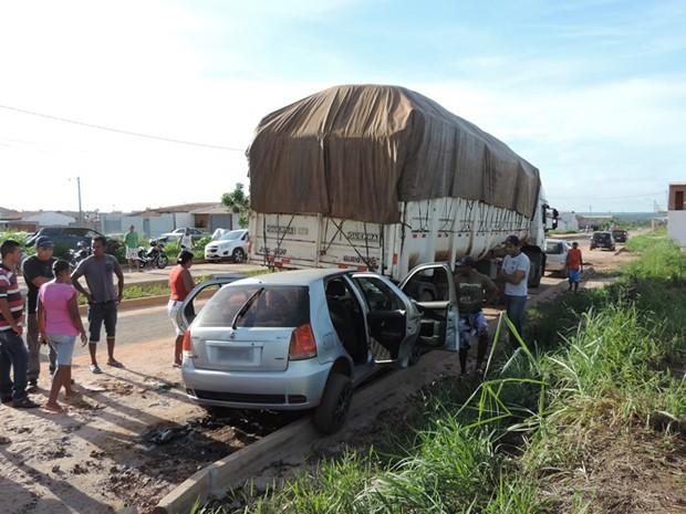 Acidente Luis EDuardo Magalhães Bahia 2 (Foto: Sigi Vilares/Blog do Sigi Vilares)
