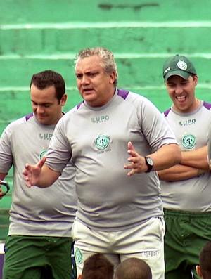 Branco Guarani treino elenco (Foto: Carlos Velardi / EPTV)