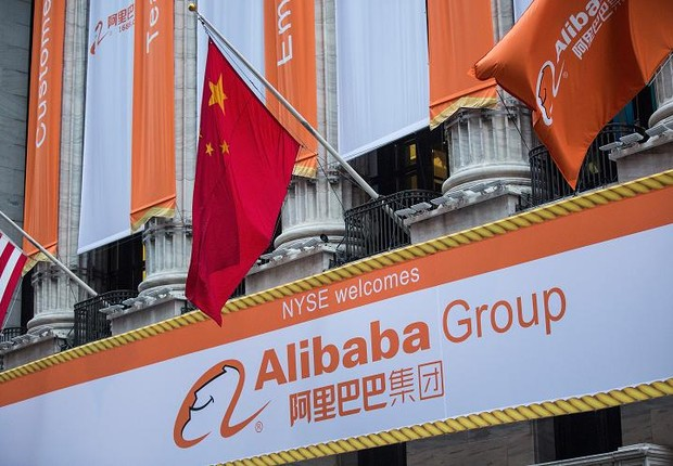 Alibaba (Foto: Andrew Burton/Getty Images)