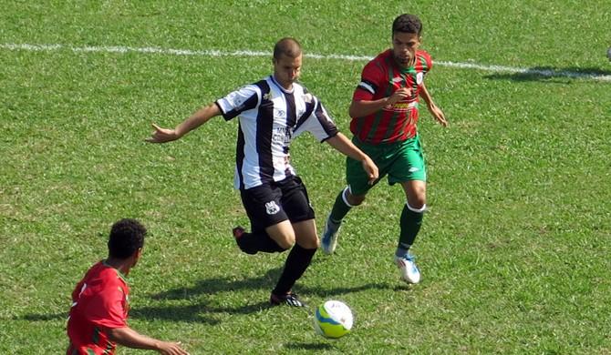 Portuguesa Santista x São Vicente Segunda Divisão Paulista (Foto: Bruno Gutierrez)