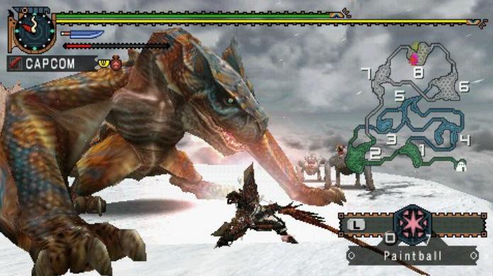 Monster Hunter Freedom 2 é um dos melhores jogos da série (Foto: Divulgação/Capcom)