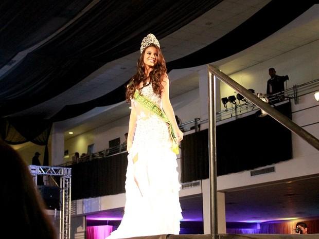Atual Miss Brasil e quinta colocada no Miss Universo, Jakelyne Oliveira (Foto: Romulo de Sousa/G1 AM)