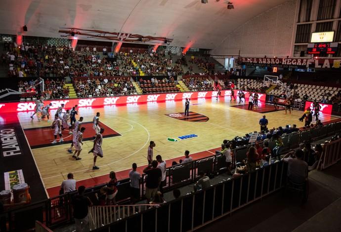 Flamengo venceu o Bauru em jogo disputado no ginásio do Tijuca (Foto: Divulgação/Bauru Basketball)