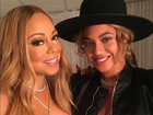 Mariah Carey posta foto com Beyoncé: 'Te amo'