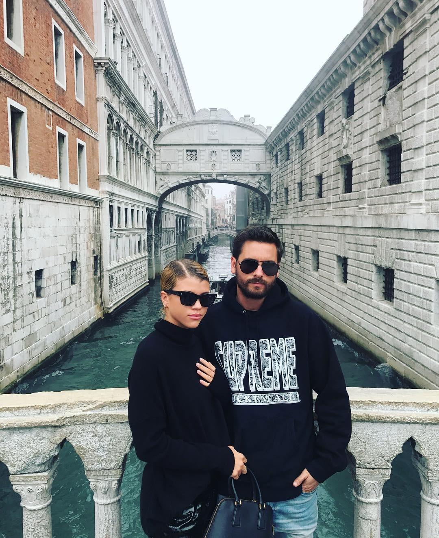 Sofia Richie e Scott Disick na Itália (Foto: Reprodução/Instagram)