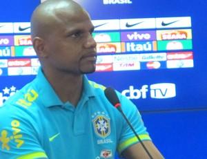 Jefferson, goleiro da Seleção Brasileira (Foto: Rodrigo Faber / Globoesporte.com)