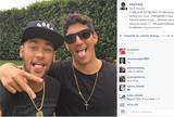 """Neymar e famosos parabenizam Medina por t�tulo mundial: """"Orgulho"""""""