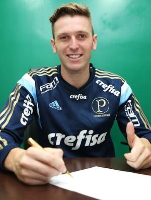 Fabiano Palmeiras (Foto: Fabio Menotti / Ag. Palmeiras / Divulgação)