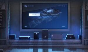 Ilustração usada em anúncio da Steam Machine mostra PCs com diversos formatos (Foto: Divulgação/Valve)