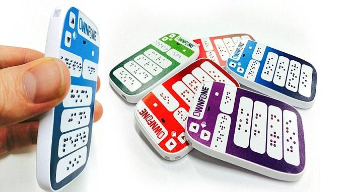 OwnFone tem opção com teclas em Braille (Foto: Divulgação/OwnFone)