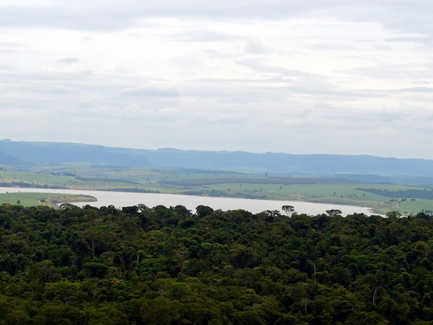 Local onde construção da barragem está prevista em Piracicaba (Foto: Thomaz Fernandes/G1)