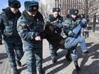 Dez pessoas são detidas após manifestação em Moscou