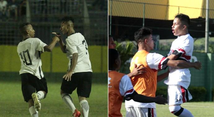 Corinthians e São Paulo, sub-15, Copa Brasil Infantil, Votorantim  (Foto: Marcos Ferreira / Secom Votorantim)