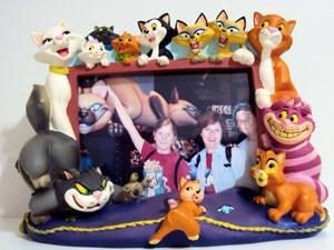 """Porta-retrato com os animais da Disney é """"xodó da coleção (Foto: Regina Vertamatti/ Arquivo Pessoal)"""