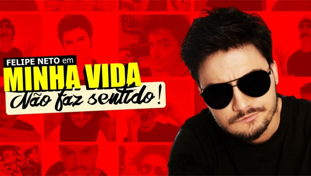 Felipe Neto chega a Curitiba com o espetáculo Minha vida não faz sentido (Foto: Divulgação)