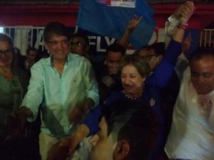 Aracely de Paula comenta reeleição em Araxá (Foto: Tatiana Melo/G1)