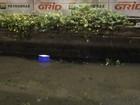 GM joga isopor de ambulante em canal  (Fernanda Rouvenat/g1)