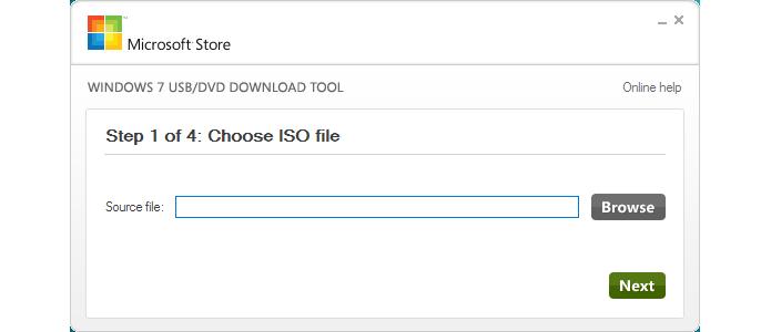 Use a ferramente recomendada pela Microsoft para criar o USB bootável (Foto: Reprodução/Paulo Alves)