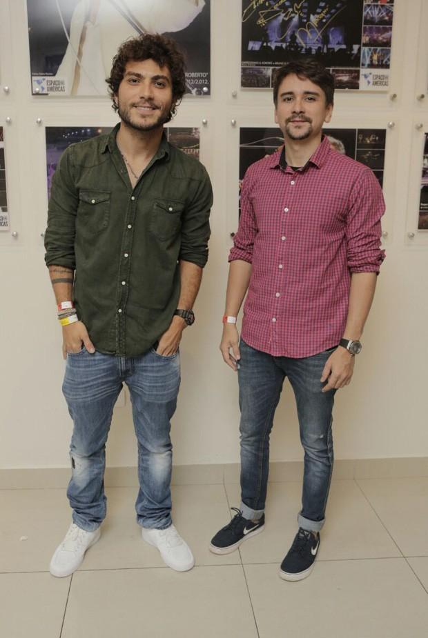 A dupla Bruninho e Davi (Foto: Ricardo Cardoso/Ed. Globo)
