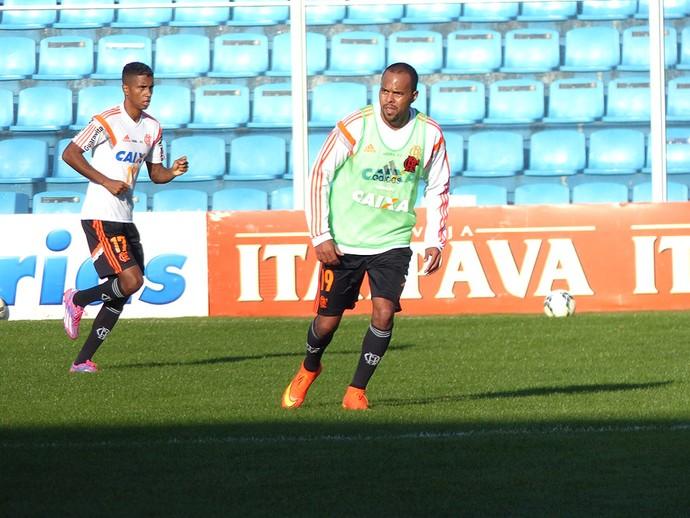 Alecsandro, treino Flamengo  (Foto: Cahê Mota)