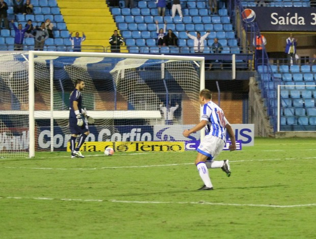 Marquinhos Avaí x Guaratinguetá (Foto: Jamira Furlani/ Avaí FC)