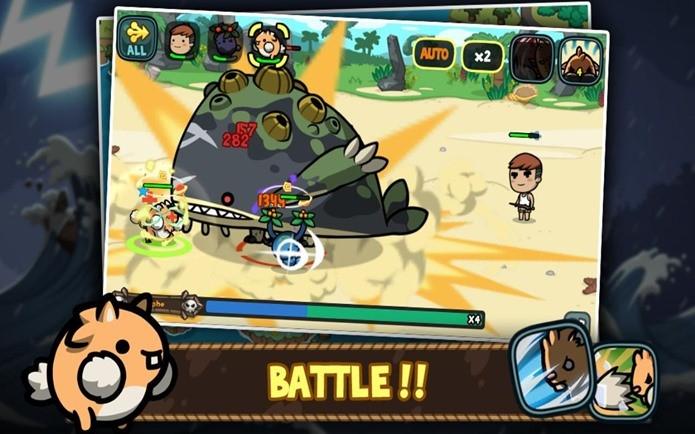 Um jogo de RPG e estratégia no estilo Pokémon (Foto: Divulgação)